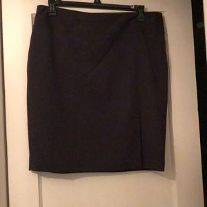 Gray The Limited pencil skirt